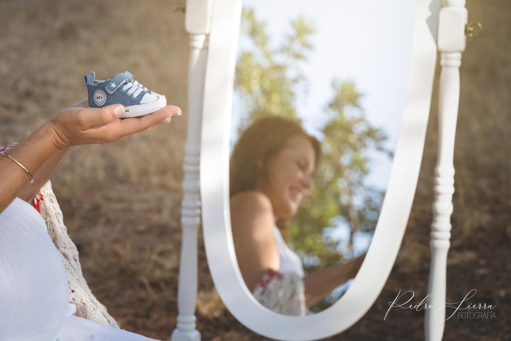 Sesión fotografía Embarazo exterior